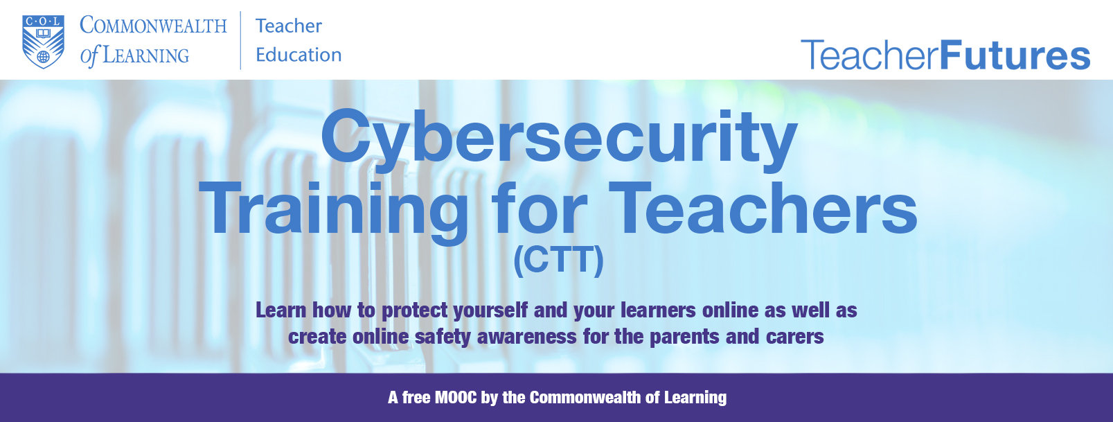 Course Image Cybersecurity Training for Teachers (CTT)